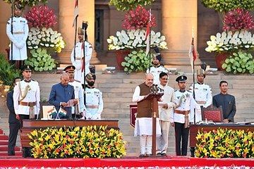 He took oath as Union Minister in Modi government (30 May 2019)
