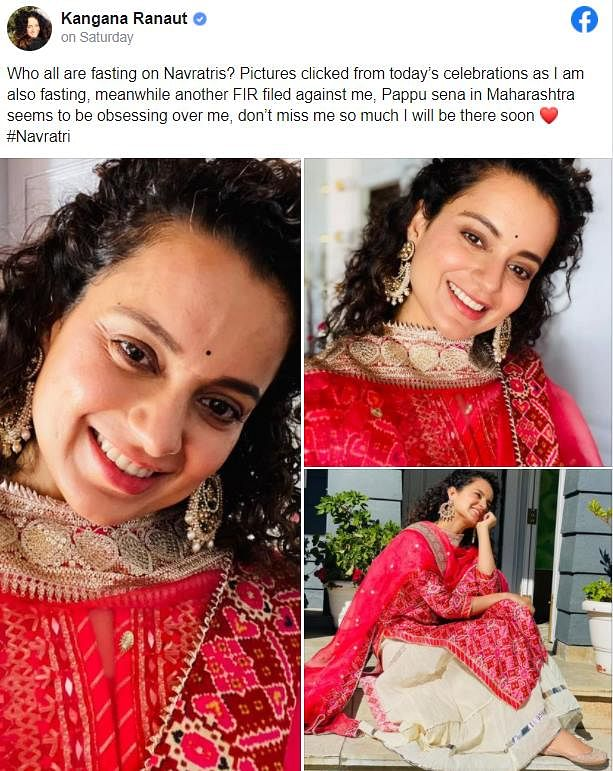 Odisha-based lawyer threatens Kangana Ranaut with rape on Navratri post