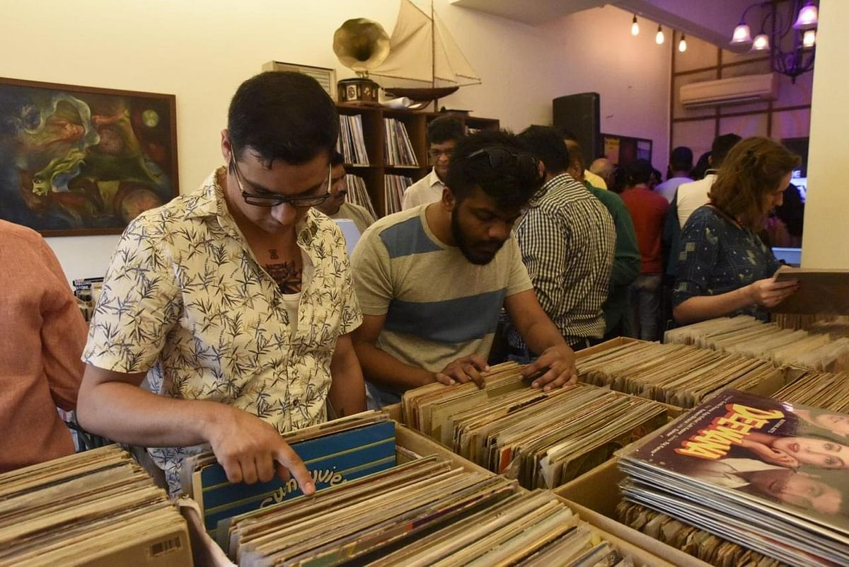 Crate digging on Record Store Day 2019 at The Revolver Club