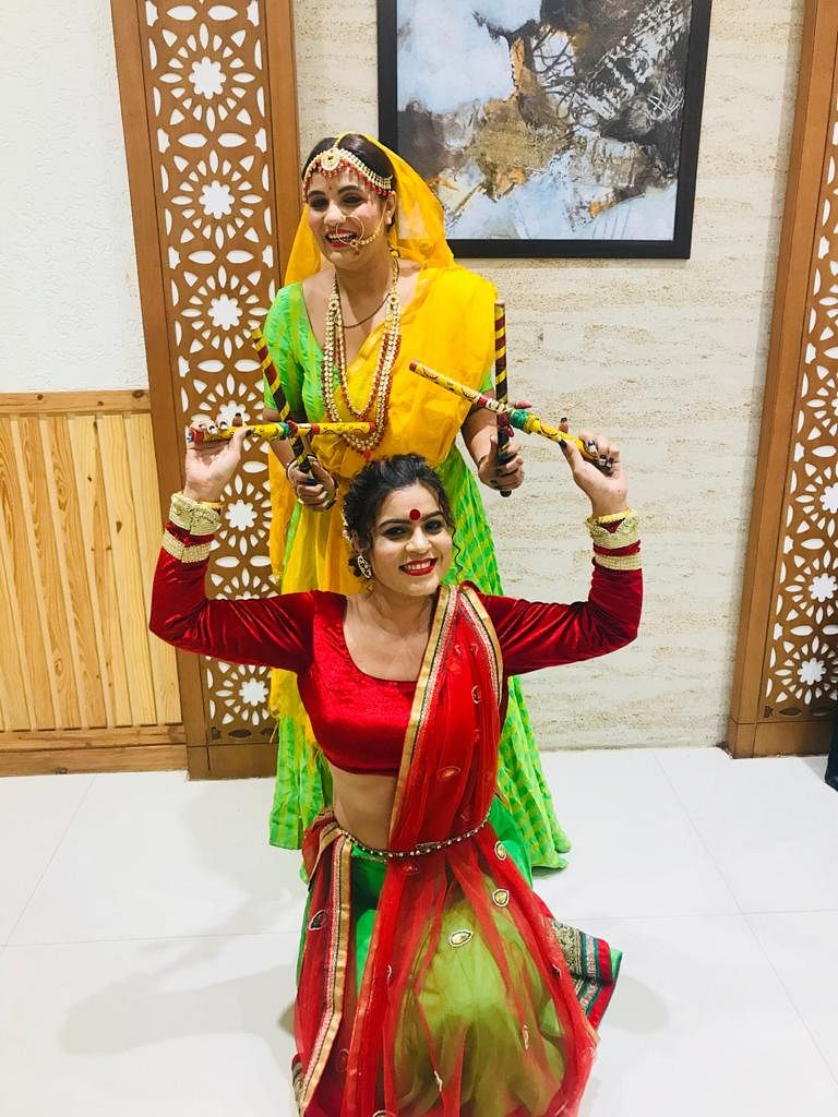 Bhopal: With all COVID norms in place, Classic women Group holds Garba and Dandiya night