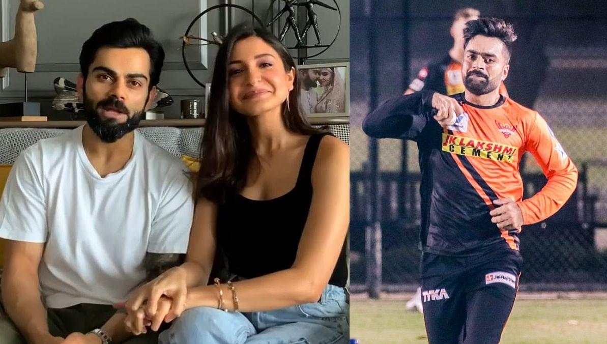 Why Google thinks Anushka Sharma is Rashid Khan's wife