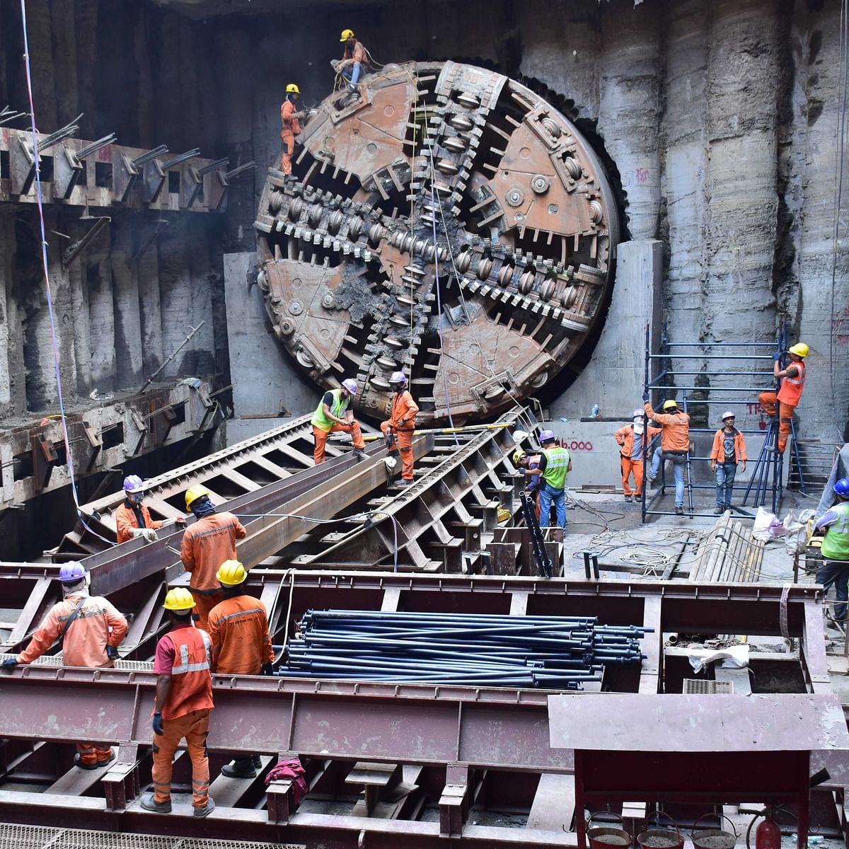 Mumbai Metro 3 project: 9 more breakthroughs to complete 100% tunnelling, says MMRC