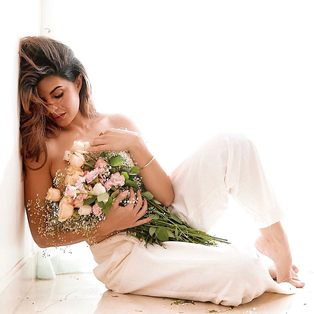 Jacqueline Fernandez breaks the internet with topless pics as she hits 46 million followers on Instagram