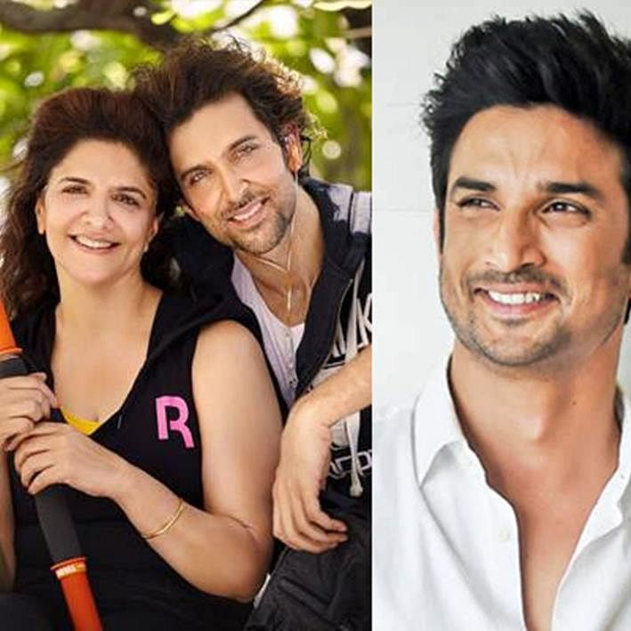 Hrithik's mother Pinkie Roshan on the same page as Kangana? Check out her cryptic post on Sushant
