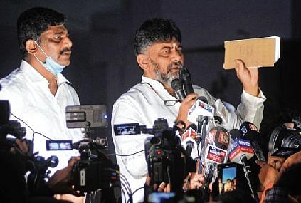 CBI raids Karnataka Congress chief