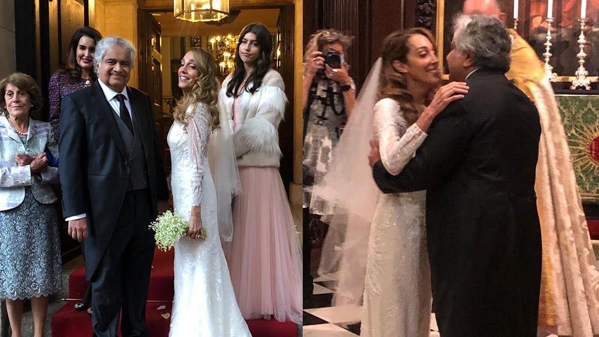 Who is Caroline Brossard? Meet Harish Salve's wife who's 9 years his junior