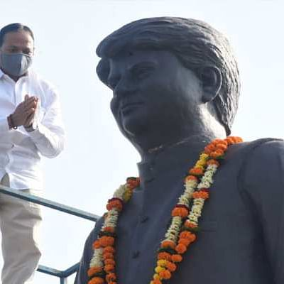 Indore: IMC to shift Madhavrao Scindia statue from Bengali Square after polls