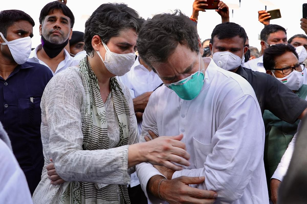 FIR against Rahul, Priyanka, 200 other Congress workers in Noida under Epidemic Diseases Act