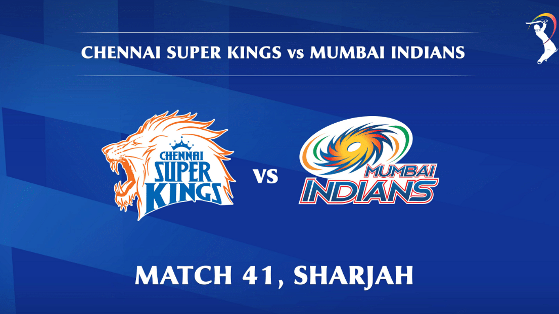Chennai Super Kings vs Mumbai Indians LIVE: Score, commentary for the 41st match of Dream11 IPL
