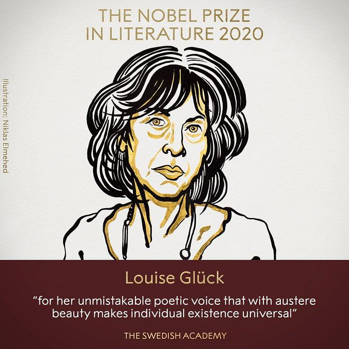 Nobel Prize in Literature 2020 awarded to American poet Louise Glück