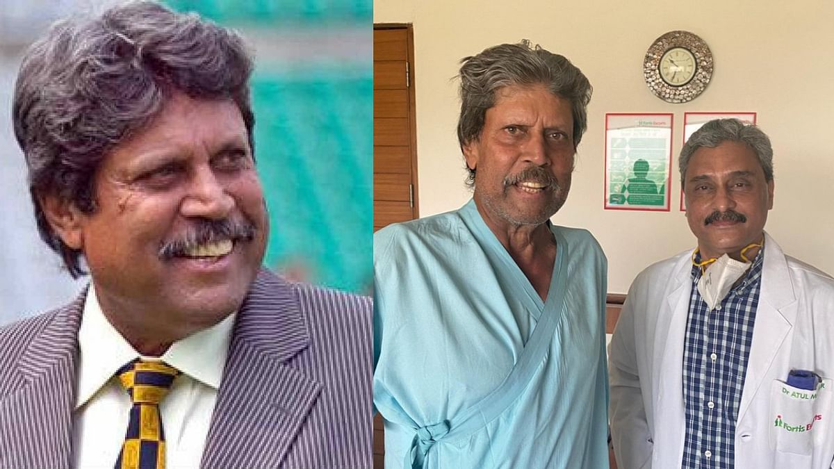 Kapil Dev 'absolutely fine', discharged from hospital after angioplasty