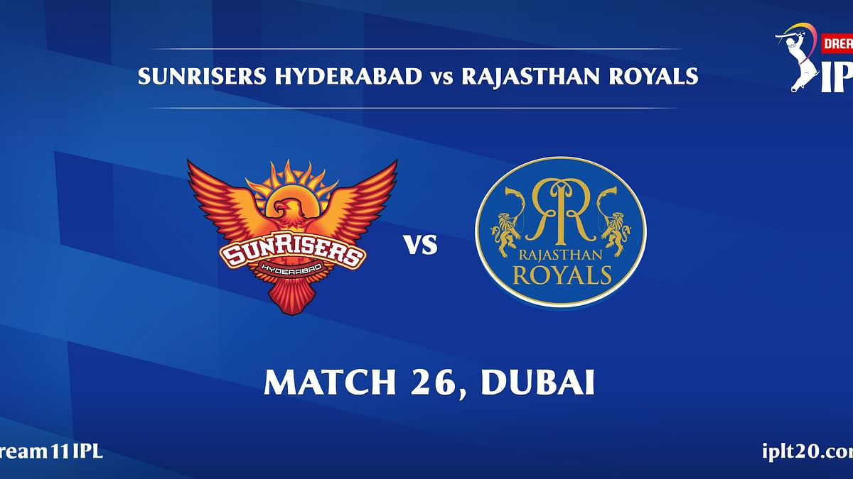 SunRisers Hyderabad vs Rajasthan Royals Live: Score, commentary for the 26th match of Dream11 IPL