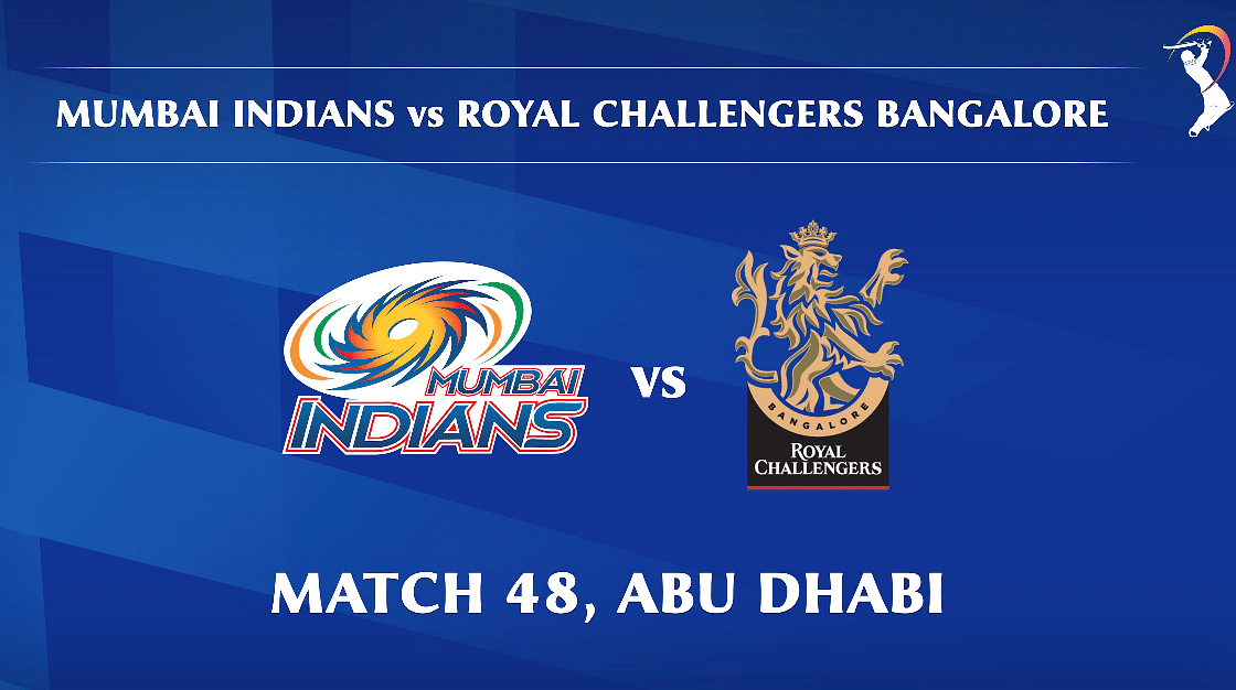 Mumbai Indians vs Royal Challengers Bangalore LIVE: Score, commentary for the 48th match of Dream11 IPL