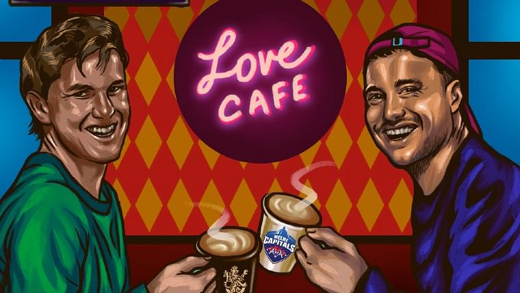 IPL 2020 RCB vs DC: What is Marcus Stoinis and Adam Zampa's 'Love Cafe'?