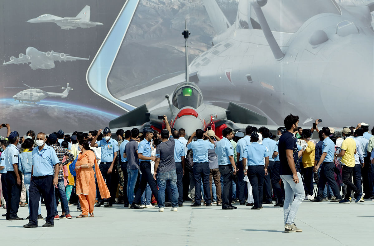 Rafale steals thunder on Indian Air Force Day