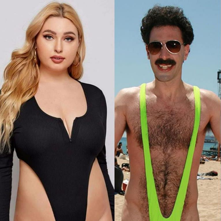 Shopping app Shein brutally trolled for selling 'bodysuit' that resembles 'Borat's mankini'