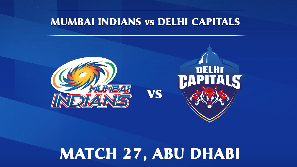 Mumbai Indians vs Delhi Capitals Live: Score, commentary for the 27th match of Dream11 IPL