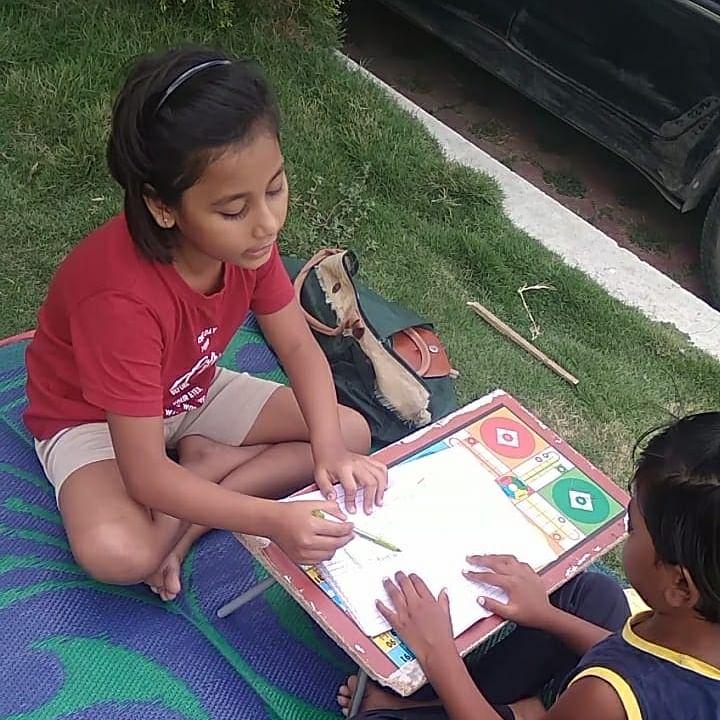 Indore: Class II student turns teacher for slum kids