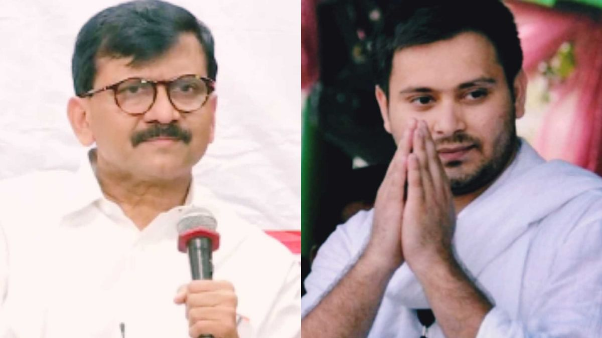 'Young man without any support is challenging everyone in Bihar': Sanjay Raut bats for Tejashwi Yadav