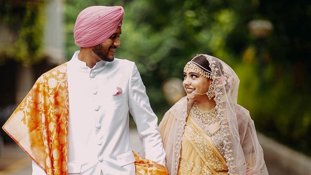 Niti Taylor marries beau Parikshit Bawa; shares video of her 'COVID wedding'