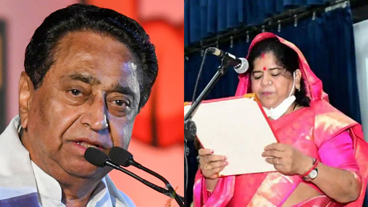 Madhya Pradesh: Nath faces BJP workers' ire in Burhanpur over his controversial remark on BJP minister Imarti Devi