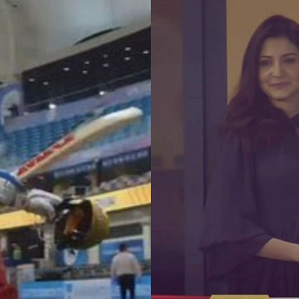 'This is wholesome': Netizens on Anushka Sharma's reaction after Virat Kohli scores 90* against CSK
