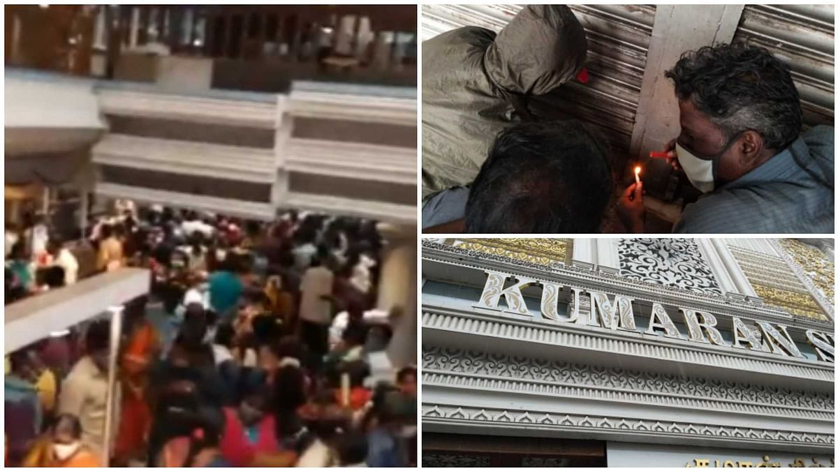 Coronavirus in Chennai: Kumaran Silks store sealed after viral video shows massive crowd violating social distancing norms