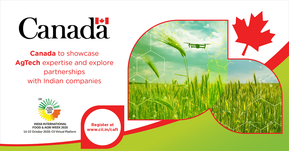 Canada to showcase AgTech Expertise at Agro & Food Tech 2020