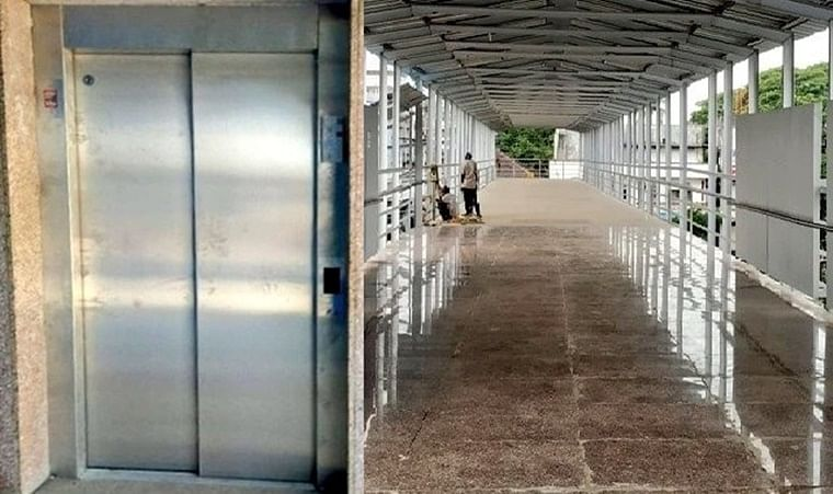 Mumbai: Western Railway opens new elevator and foot over bridge at Palghar station