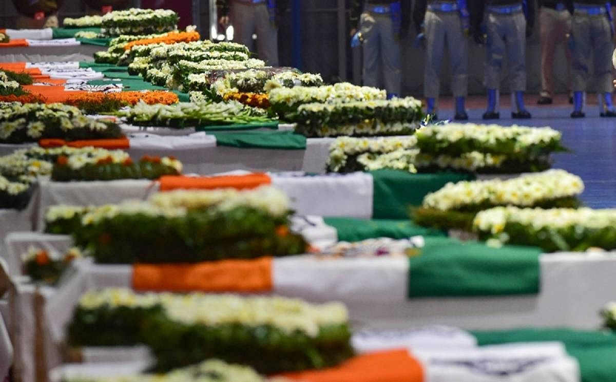 Bhopal: Last rites of martyred CRPF personnel Dhirendra Tripathi to be done on Wednesday