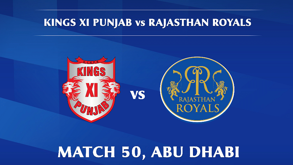 Kings XI Punjab vs Rajasthan Royals LIVE: Score, commentary for the 50th match of Dream11 IPL