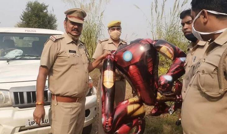 'International conspiracy by Robert Downey Jr': Twitterati in splits as Iron Man-shaped balloon mistaken for 'alien'