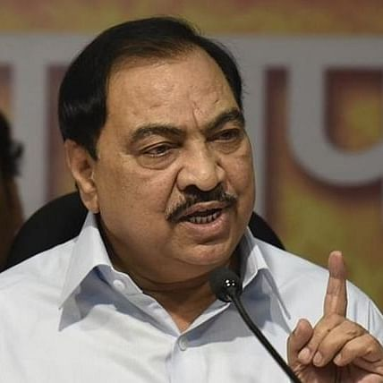 From Sarpanch to Revenue Minister: Here's a look at Eknath Khadse's political journey