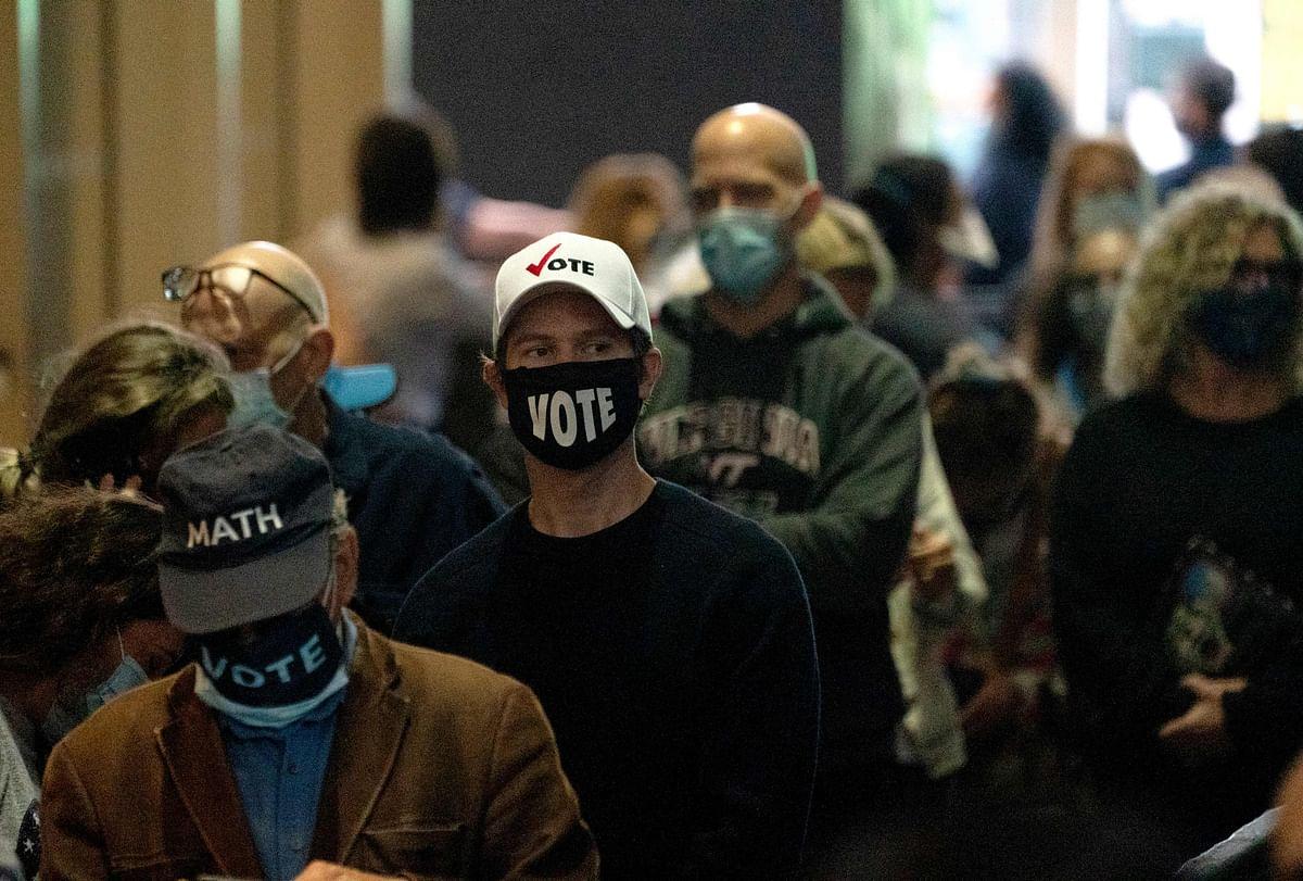 Early votes skyrocket in US