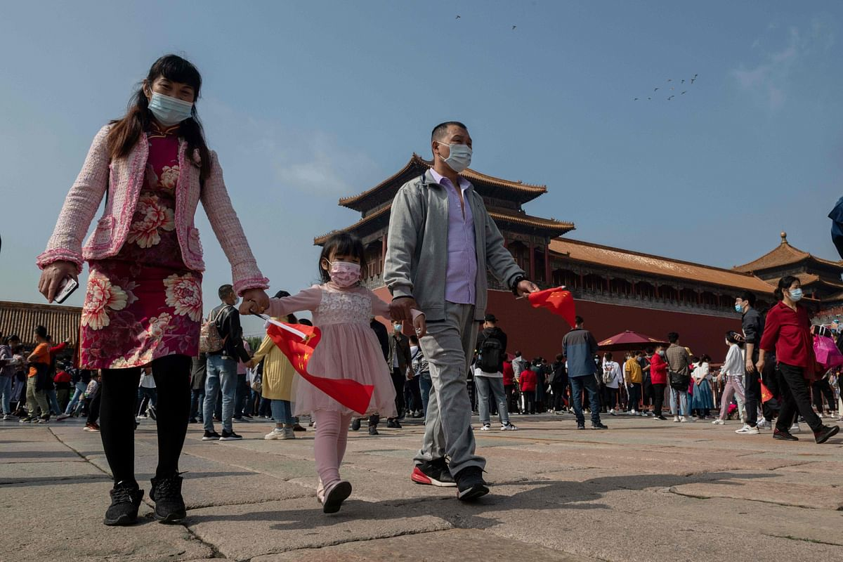 Millions of Chinese take a break from the daily hustle and bustle