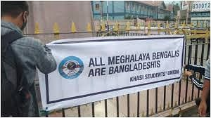 Students' body raises anti-Bengali banners, Meghalaya police warn of action