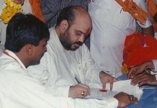 In 1997, Amit Shah was nominated for the first time as a BJP candidate from BJP's Sarkhej Legislative Assembly  and won the election.