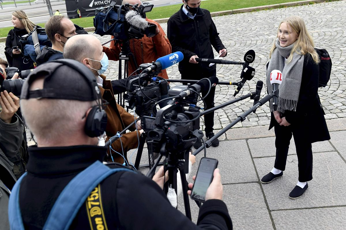 16-year-old Finnish girl steps into PM's shoes for a day