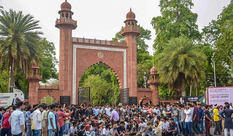 Bihar Elections 2020: AMU Jinnah portrait row resurfaces as Congress fields former student leader from Jale