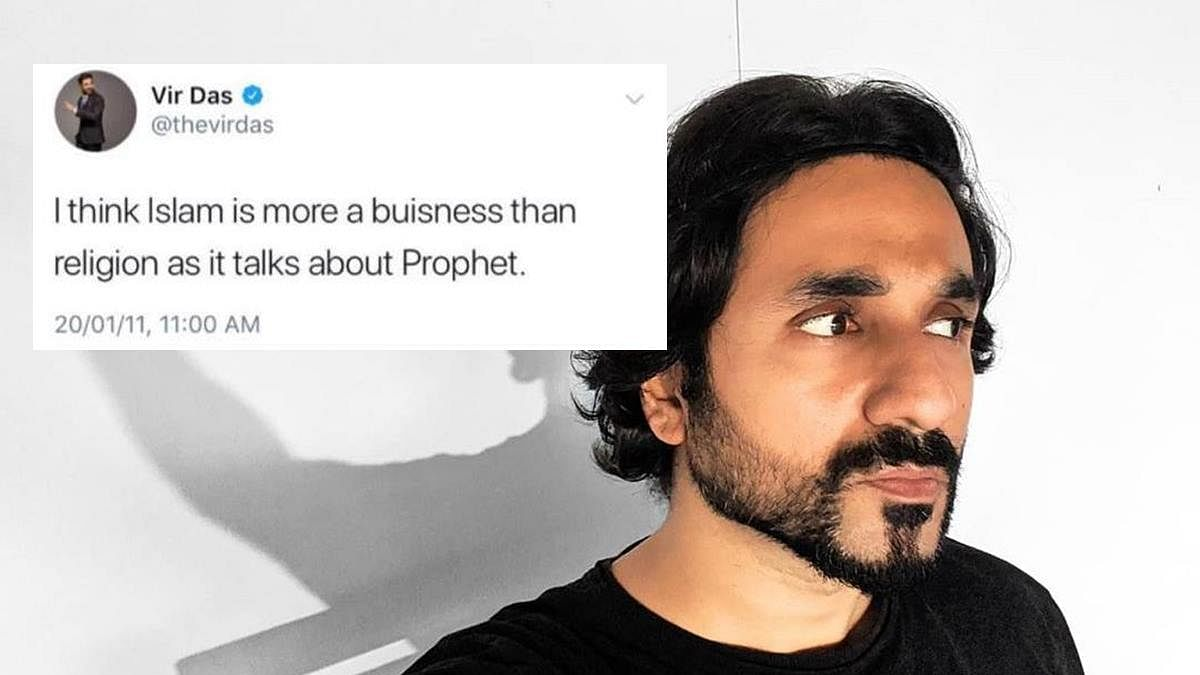 Vir Das rips apart troll who morphed and posted comedian's 'old tweet' on Islam