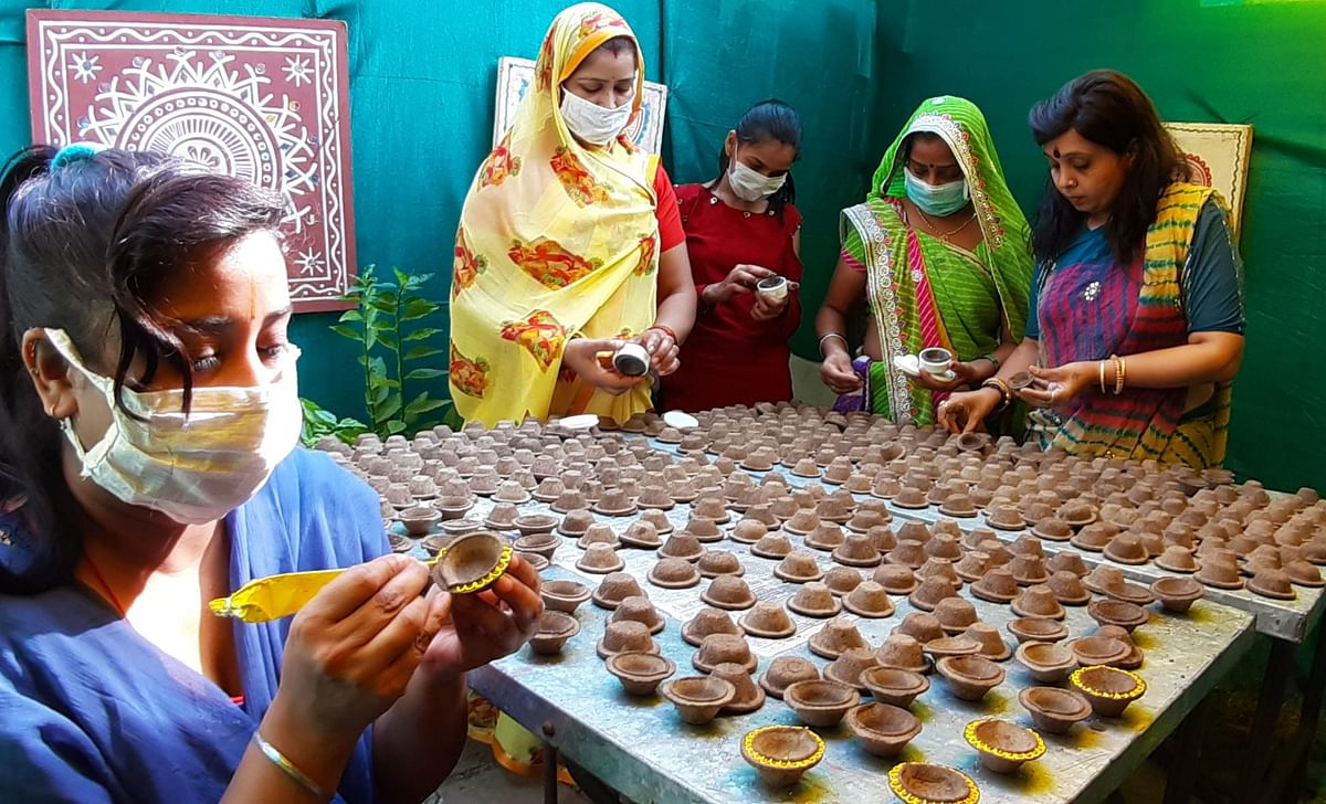 Indore: Local cow dung products making a splash this Diwali