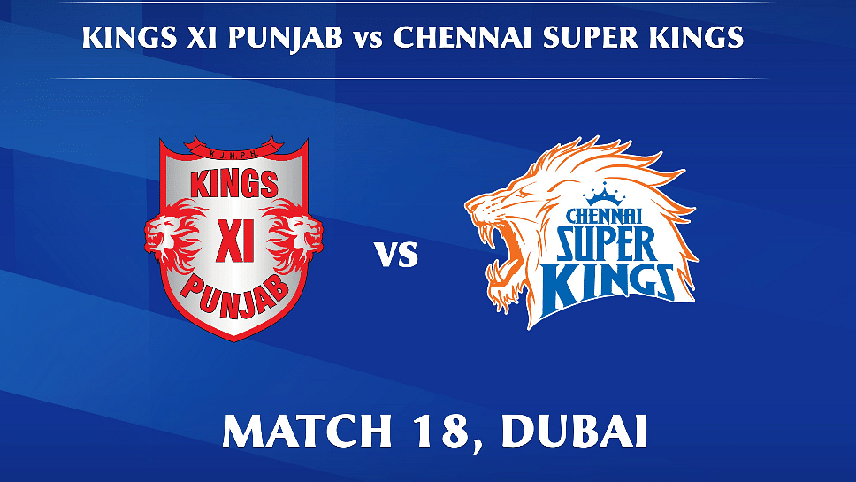 Kings XI Punjab vs Chennai Super Kings LIVE: Score, Commentary for the 18th match of Dream11 IPL