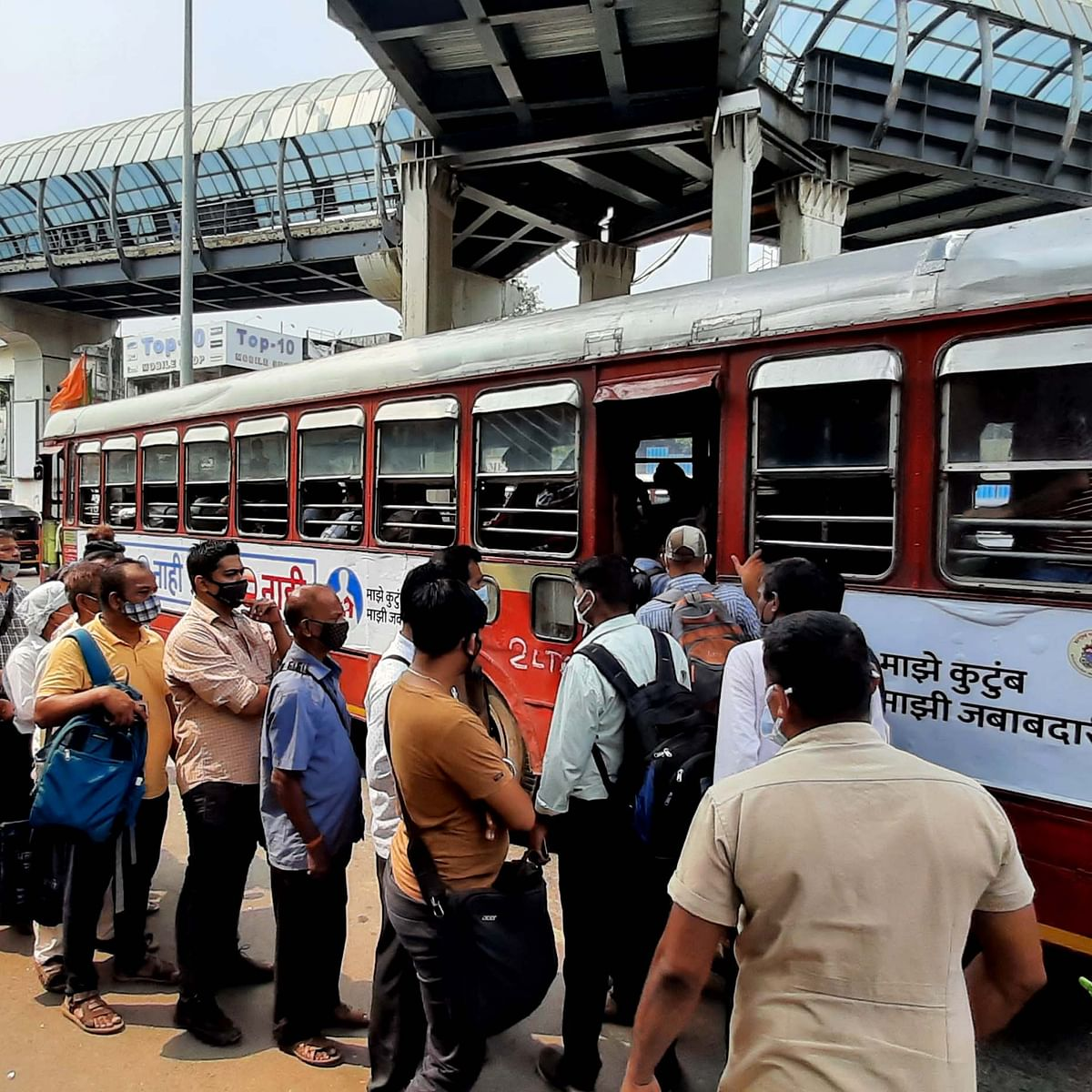 Maharashtra govt allows BEST buses to operate with full capacity
