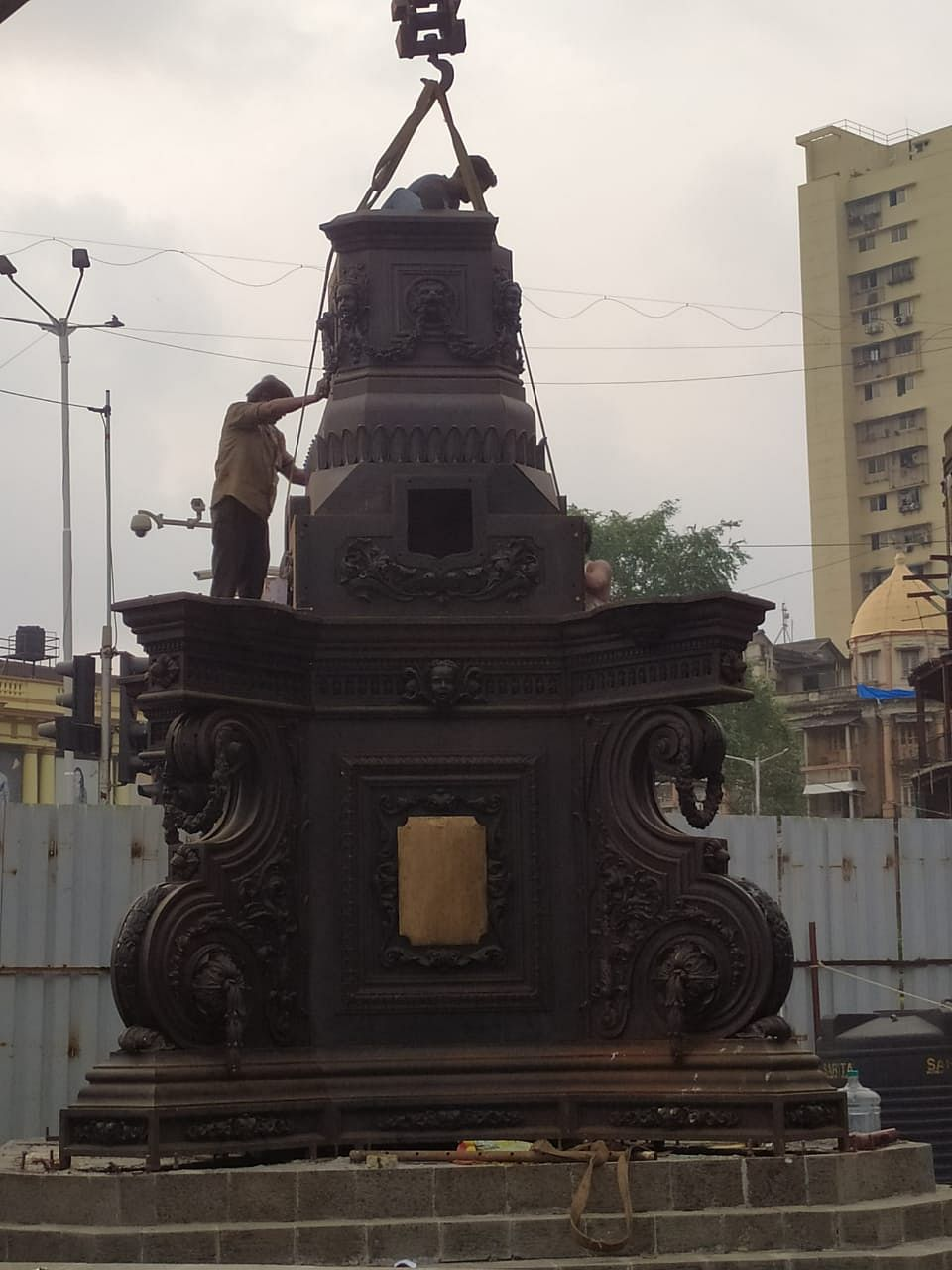 Mumbai's Fitzgerald Fountain to spring back again