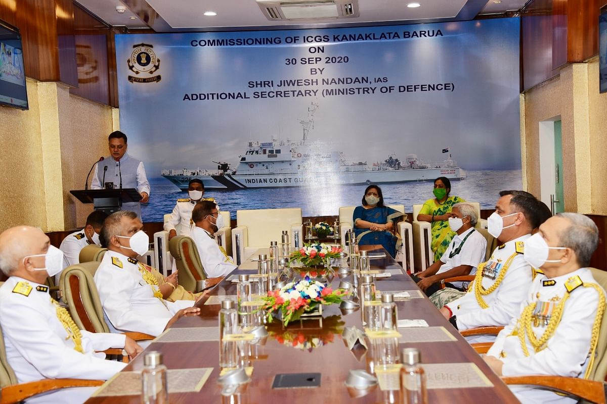 Indian Coast Guard ship Kanaklata Barua commissioned at Kolkata