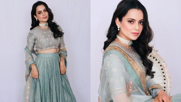 Watch: Kangana Ranaut dazzles in pastel lehenga for cousin's wedding