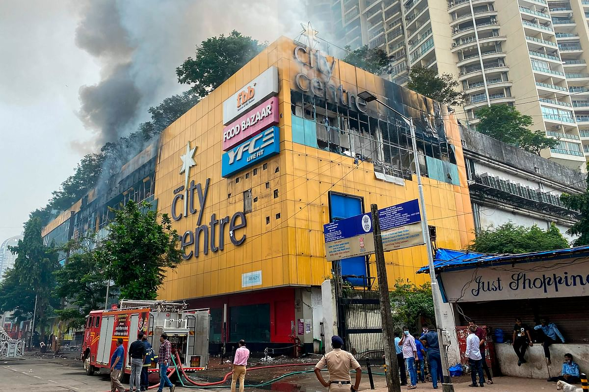 History repeats as fire engulfs City Centre, Nagpada