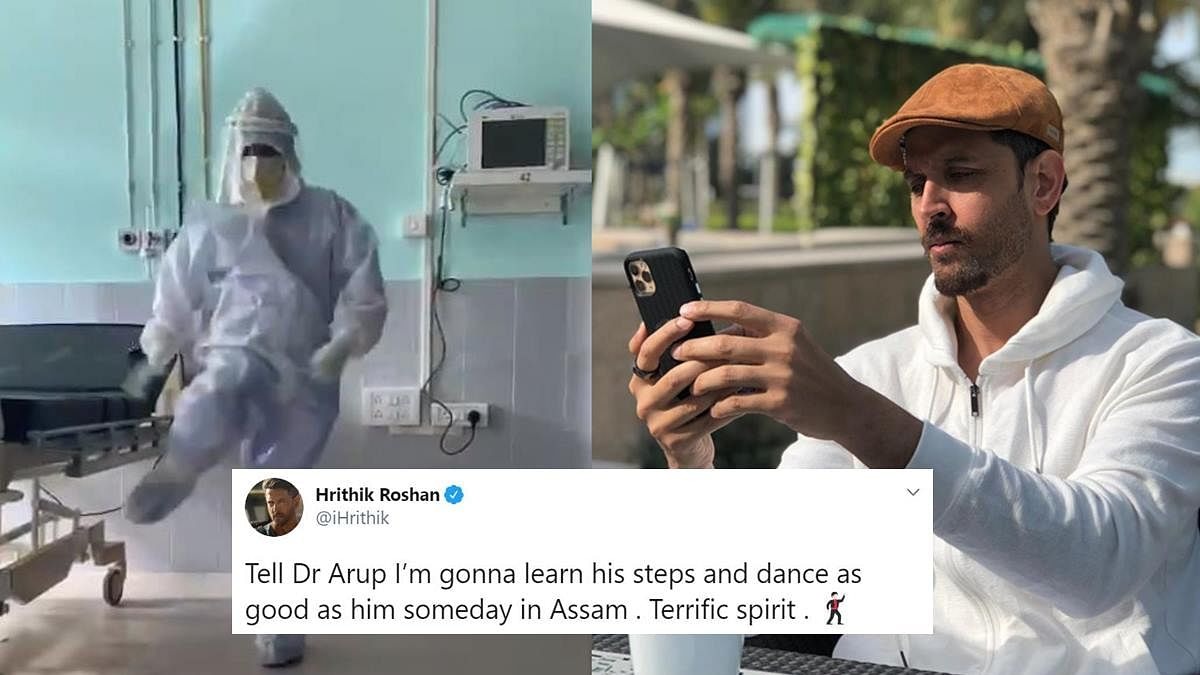 Meet doctor from Assam whose viral 'Ghungroo' dance left Hrithik Roshan in awe