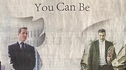 'You can be Harvey Specter from 'Suits' or 'Jolly LLB 2's Jagdishwar Mishra': Indore Institute of Law's ad draws ire
