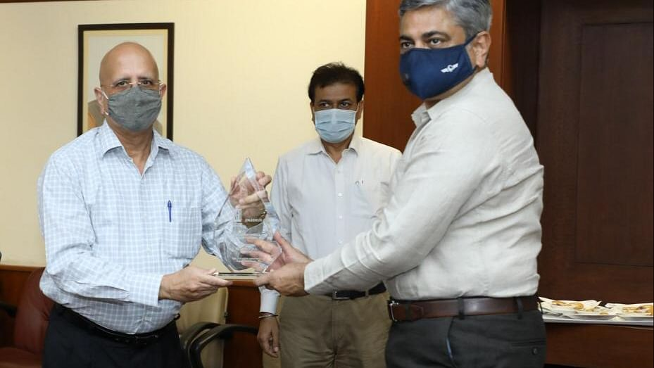 Airports Authority of India chairman felicitates four airports that won ACI Airport Service Quality Awards